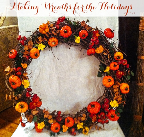 Making Wreaths for the Holidays