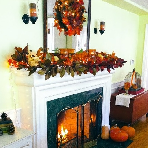 Monica Potter's Fall Decor