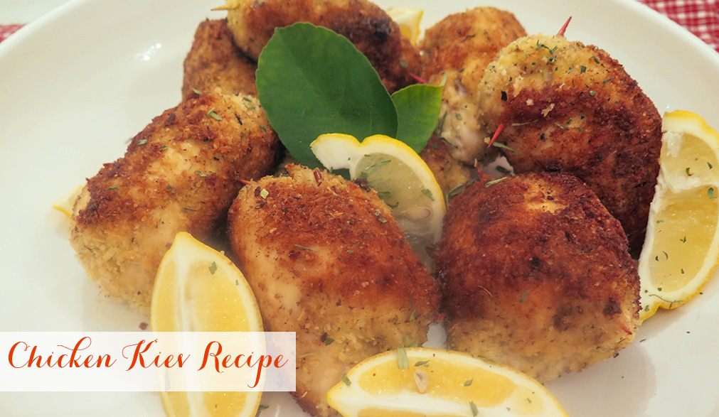 Chicken Kiev Recipe | Mrs Potter