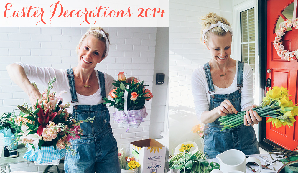 Easter Decorations 2014 Monica Potter Home