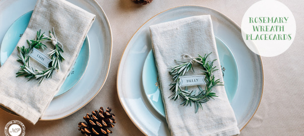 Rosemary-Wreath-Placecards