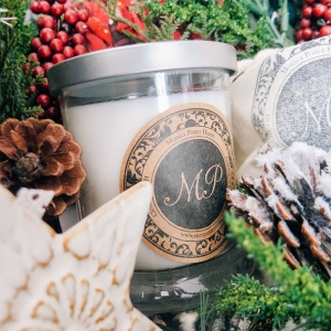 Winter Soy Glass Candle