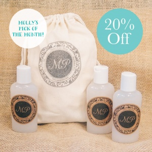 Molly's Pick of the Month – Hand Sanitizer Trio