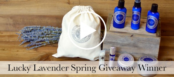 Lucky Lavender Giveaway Video
