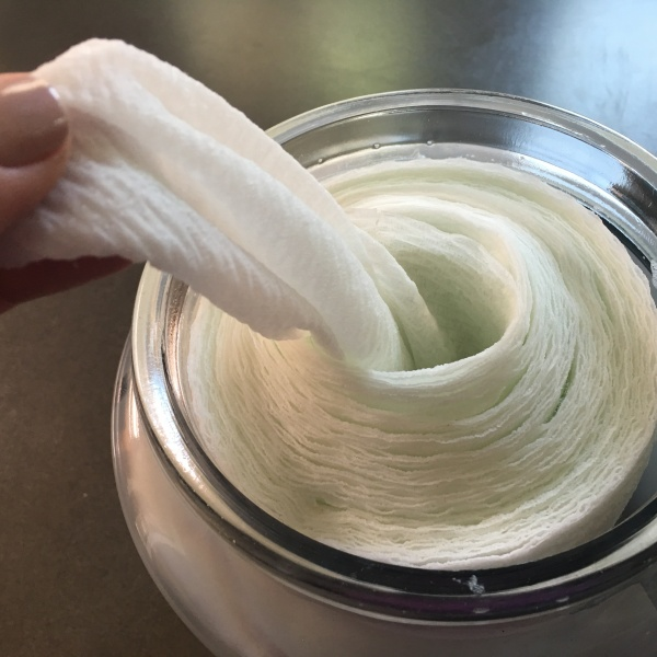 Natural Cleaning Wipes