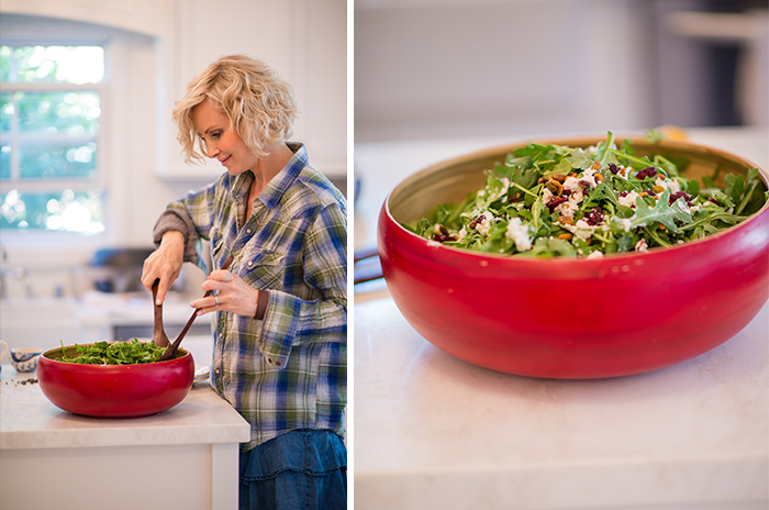 salad, sweet, savory, arugula salad, cooking, home, monicapotter, monica potter, monica potter home