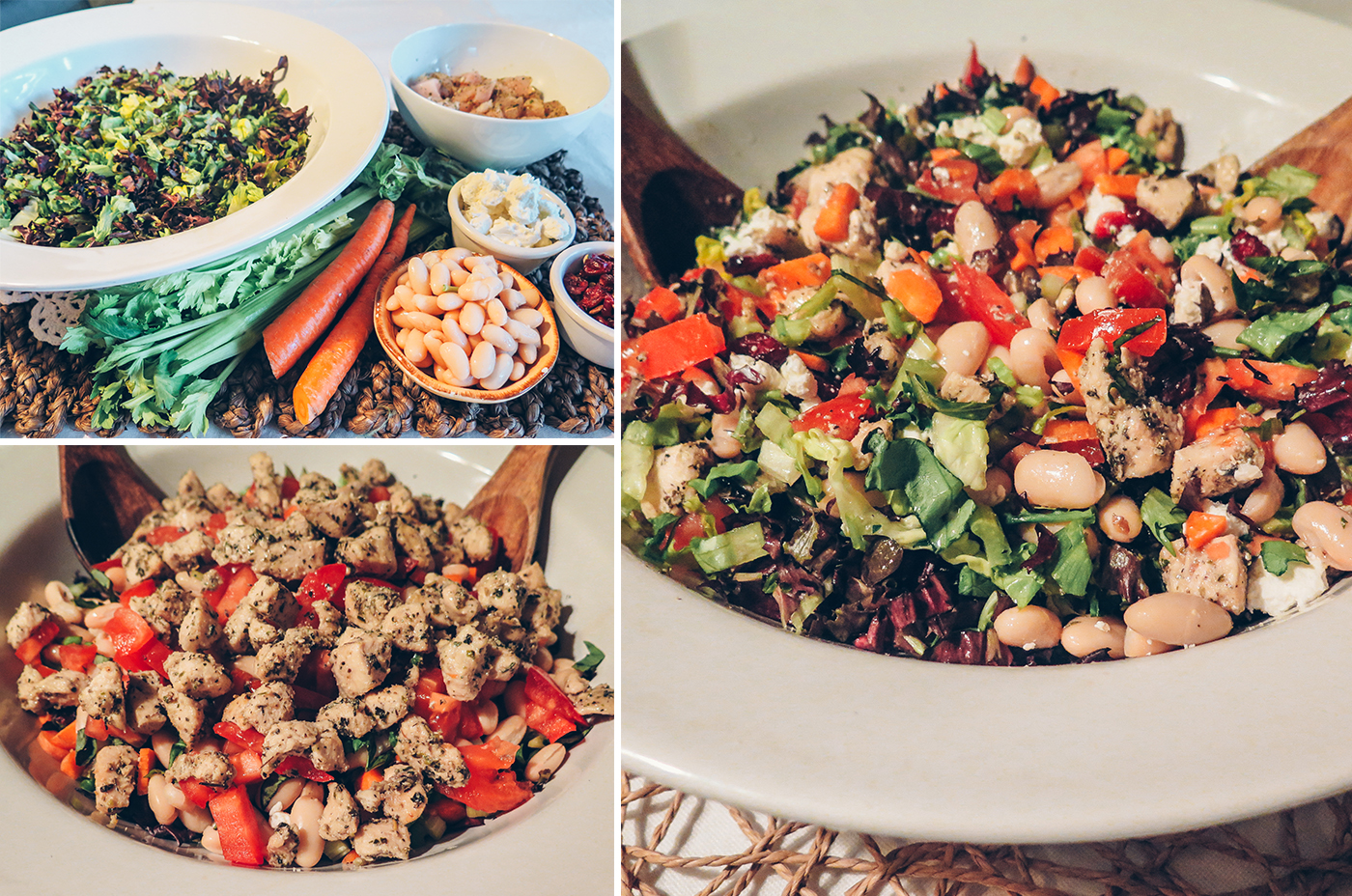 chopped salad, italian, cooking, home, monicapotter, monica potter, monica potter home