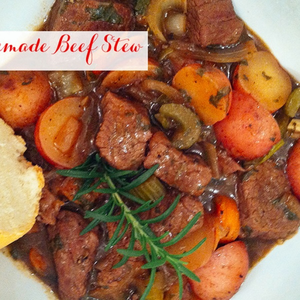 Easy, Homemade Beef Stew