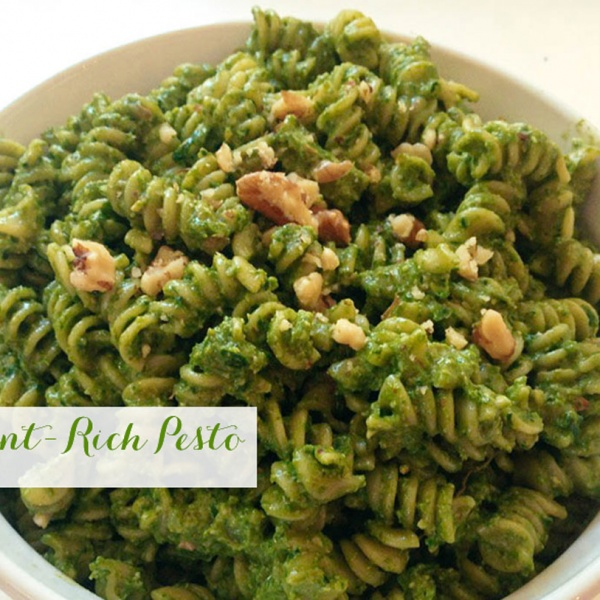 Easy, Nutrient-Rich Pesto
