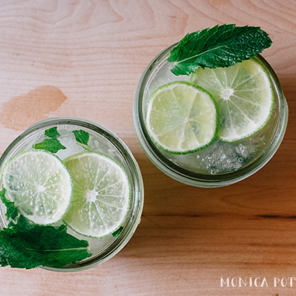 Mocktail: Virgin Mojitos