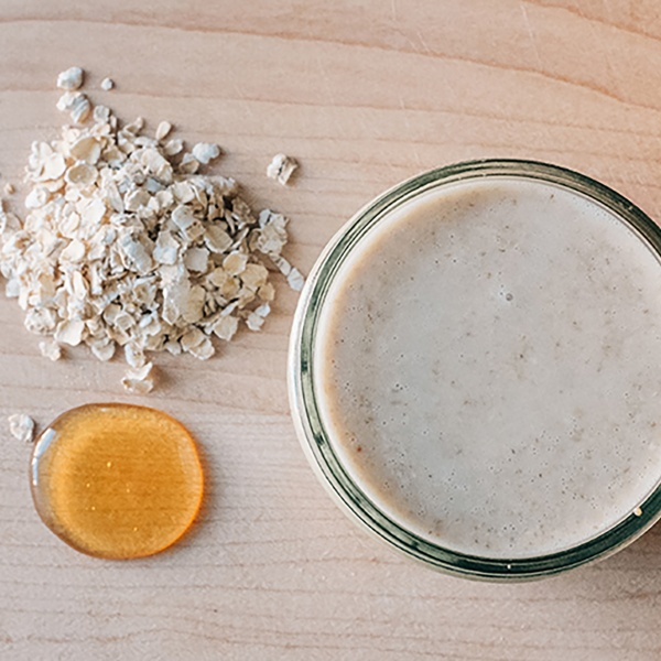 Oatmeal and Honey Face Mask