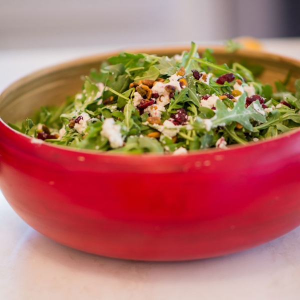 Sweet and Savory Arugula Salad