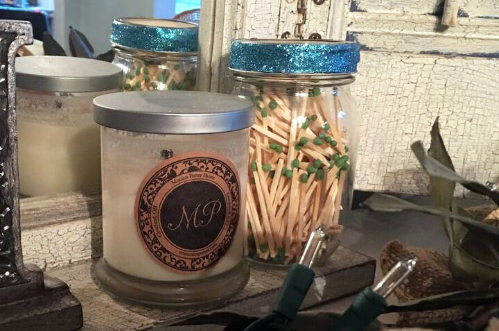 matches, mason jar, candles, crafting, home, monicapotter, monica potter, monica potter home
