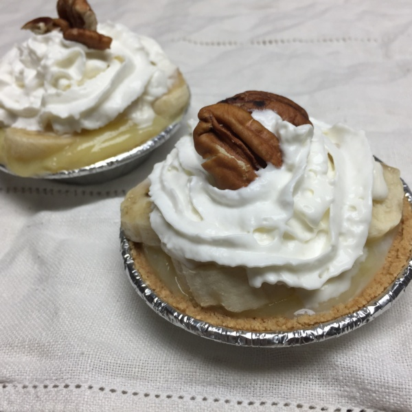 Mini Banana Cream Pies