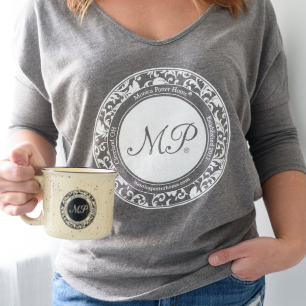 Vintage Gray Relaxed Tee